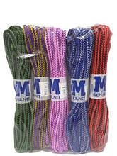 Шнур хозяйственный цветной плетенный