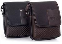Классическая стильная мужская сумка Twins