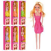 Кукла FB001-5-6-7-10 28,5см, 4 вида (микс цветов), в кор-ке, 8-32-4,5см