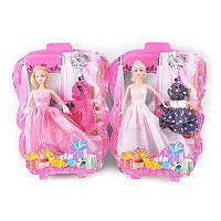 Кукла с нарядом 5509-C 29см, платье, колье, 3 вида, на листе, 27-37-6см