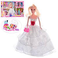 Кукла с нарядом AZ668D-2 28см, платья11шт, косметика, аксессуары, в кор-ке,61,5-33-6,5см