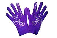 Перчатки со Swarovski (12-17 лет)