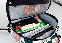 Рюкзак Camouflage зелено коричневый Upixel (WY-A021Q)