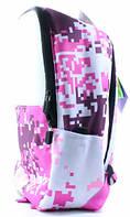 Рюкзак Camouflage розово белый Upixel (WY-A021B)