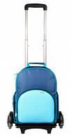 Рюкзак на колесах Rolling Backpack синий Upixel (WY-A024O)