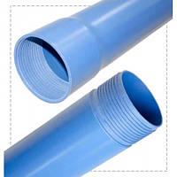 Пластиковая обсадная труба для скважин d.125*5,5мм