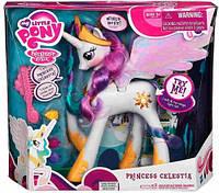 Принцесса Селестия с аксессуарами интерактивный пони обновленная My Little Pony (A0633)