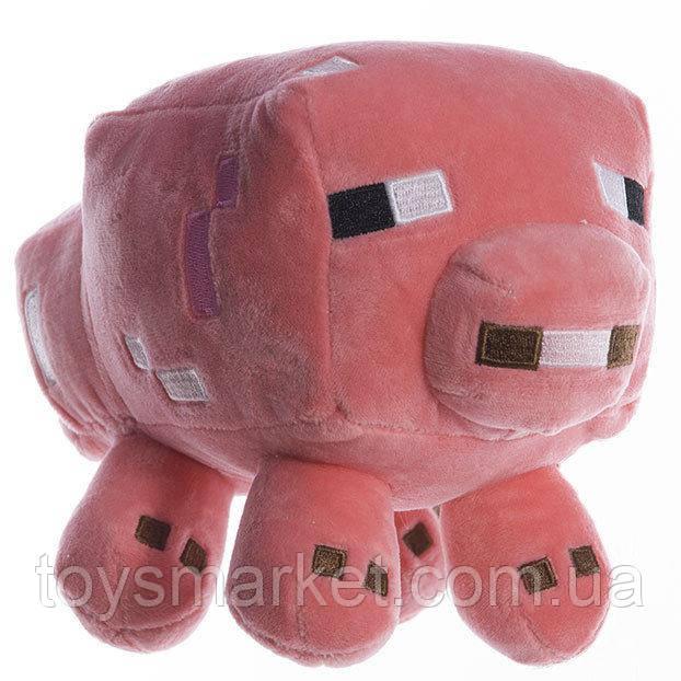 Плюшевая игрушка, Майнкрафт, Свинья