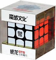 Кубик головоломка скоростной Weilong GTS 3x3x3 MoYu  (MYWLGTS1)