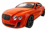 Bentley GT Supersport автомобиль на радиоуправлении оранжевый 1:14 MZ Meizhi (2048-1)