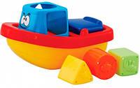 Игрушка сортер для ванной комнаты Веселый кораблик Navystar (68021-A)