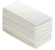 Бумажные полотенца Стандарт белые (160шт/уп)