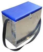 Ящик зимний оцинкованный большой с окошком, фото 2
