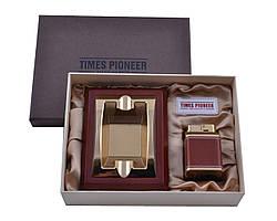 Подарунковий набір Pioneer 2в1 попільничка і запальничка