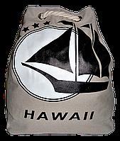Женский пляжный рюкзак HAWA II бежевого цвета VBV-010051, фото 1
