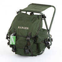 Раскладное кресло-рюкзак FS 93112 - для путешествий / рыбалки