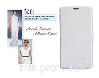 Чехол-книжка NILLKIN для телефона LG Nexus 5 белый