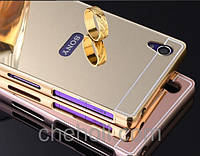 Чехол бампер для Sony Xperia Z5 Compact E5823 зеркальный
