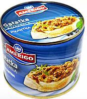 Помазанка с о скумбрии пикантная Amerigo Salatka z Makreli pikantna 330g
