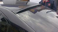 Skoda Octavia Tour A4 Задний козырек (пластик) Черный глянец