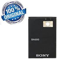 Аккумулятор батарея BA600 для Sony Xperia U ST25i оригинальный