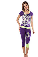Очень красивый костюмчик для дома фиолетового цвета 48225