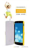 Чехол-книжка NILLKIN для телефона LG Nexus 5 жёлтый