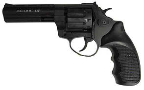 "Револьвер флобера STALKER 4,5"", 170 м/с,Чёрный, рукоятка - пластик"