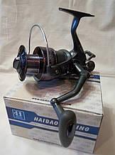 Рибальська коропова котушка HIBOY J3-60 З байтранером 3 підшипника