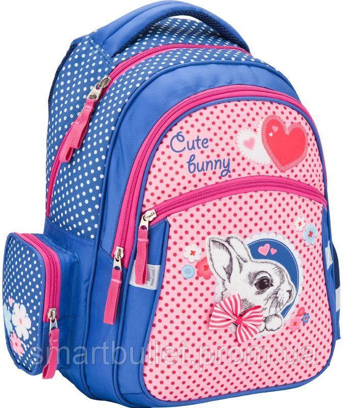 Рюкзак шкільний ортопедичний KITE Cute Bunny K17-522S