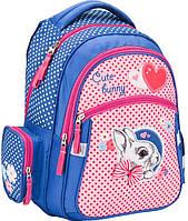 Рюкзак шкільний ортопедичний KITE Cute Bunny K17-522S, фото 1