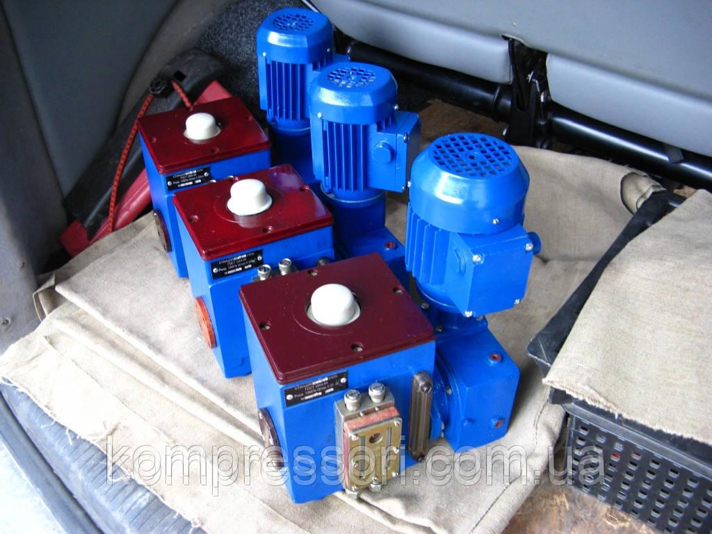 Станция смазки многоотводная Лубрикатор СН5М-41-02 (электропривод)