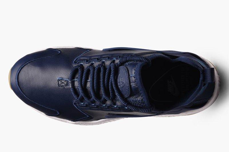 588eae37 ... Мужские кроссовки Nike Air Huarache Run Ultra SI Leather Blue , фото 4  ...