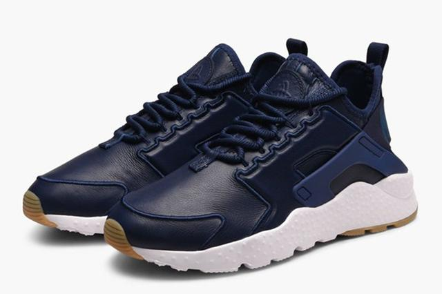 96b18b2b ☆ Купить Мужские кроссовки Nike Air Huarache Run Ultra SI Leather ...