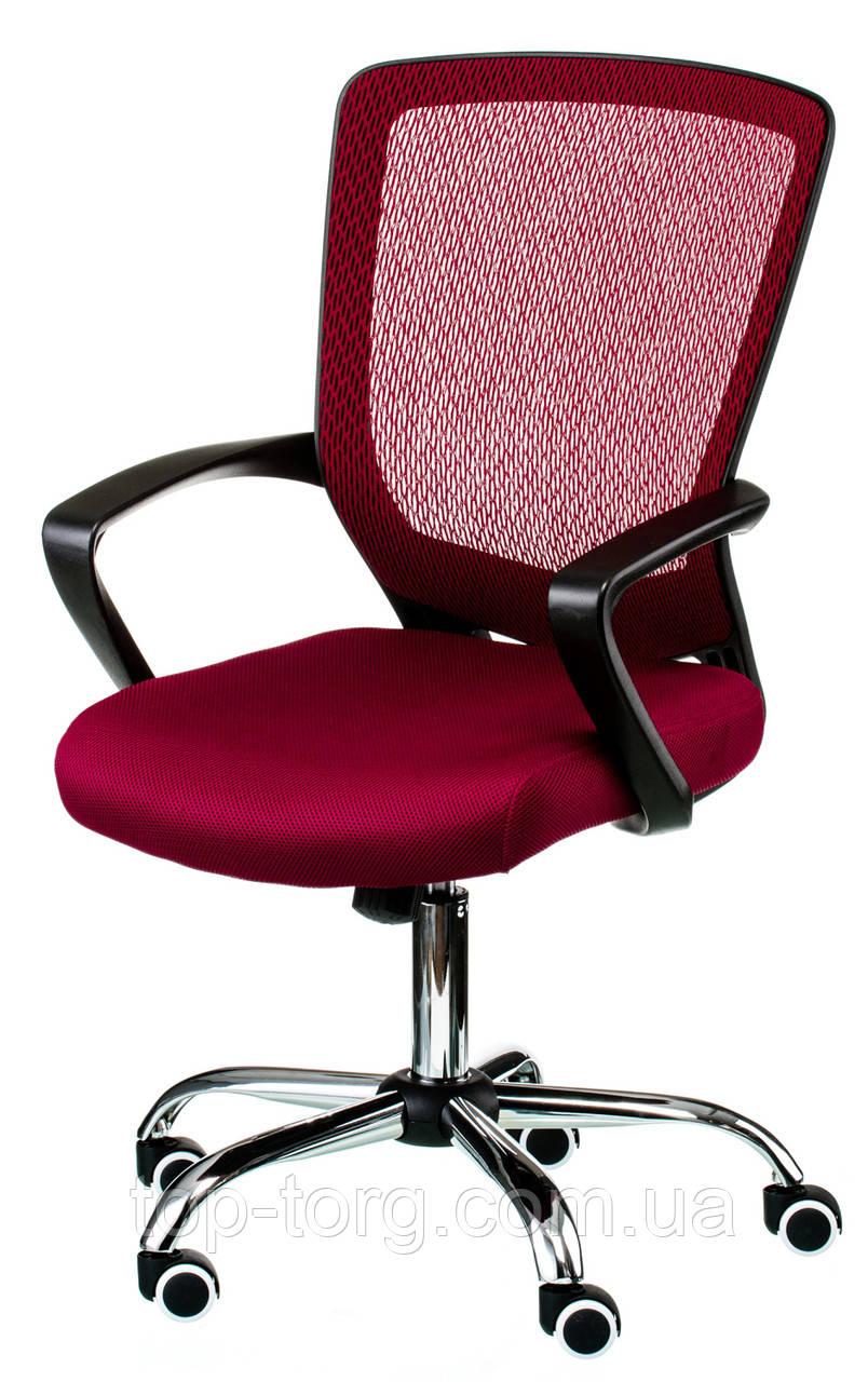 Крісло офісне, комп'ютерне Marin red, червоний