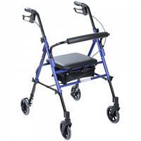 Роллер с регулировкой высоты сиденья osd-kq-1012-6,  ходунки для инвал,  ходунки для инвалидов и пожилых людей