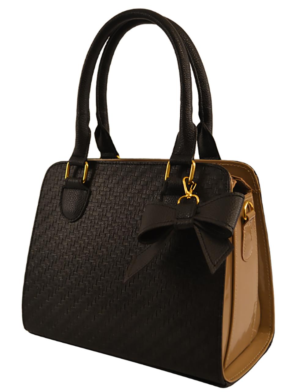 02650f84f8ab Женская модная черная сумка плетенка классическая: продажа, цена в ...
