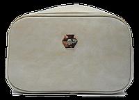 Классическая женская сумочка DAVID DJONES кремово-серого цвета XVX-006429