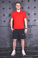 Мужской летний костюм Nike l Комплект шорты футболка Найк