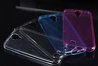 Силиконовый чехол для Samsung Galaxy S4 i9500 супертонкий 0.3 мм