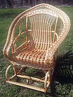 Крісло-гойдалка плетене з лози (безкоштовна доставка), фото 1