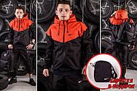 Мужская Ветровка Windrunner Nike - оранжевый - Размер S. M. L. XL.
