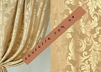 Шторы сатин жаккард ( портьерная ткань)