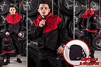 Мужская Ветровка Windrunner Nike - красный - Размер S. M. L. XL.