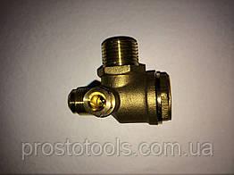Обратный клапан для компрессора вход 3/8, выход 1/2 Profline 1F