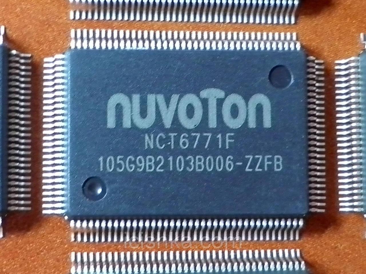 Мультиконтроллер NUVOTON  NCT6771F