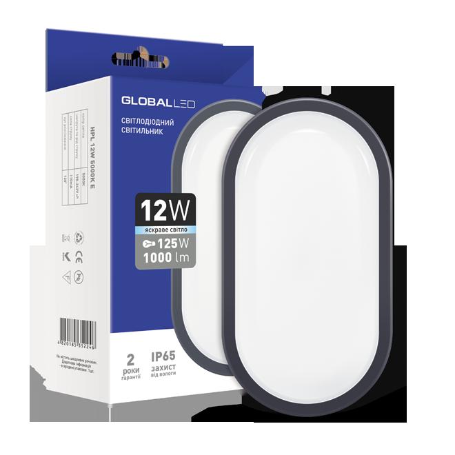 """LED-светильник Global """"ЖКХ"""" 12Вт"""