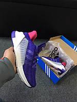 Женские кроссовки Adidas ClimaCool 1:1 оригинал топ качество Вьетнам размеры 36-41 фиолетовые
