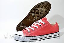 Женские Кеды в стиле Converse, Coral, фото 3