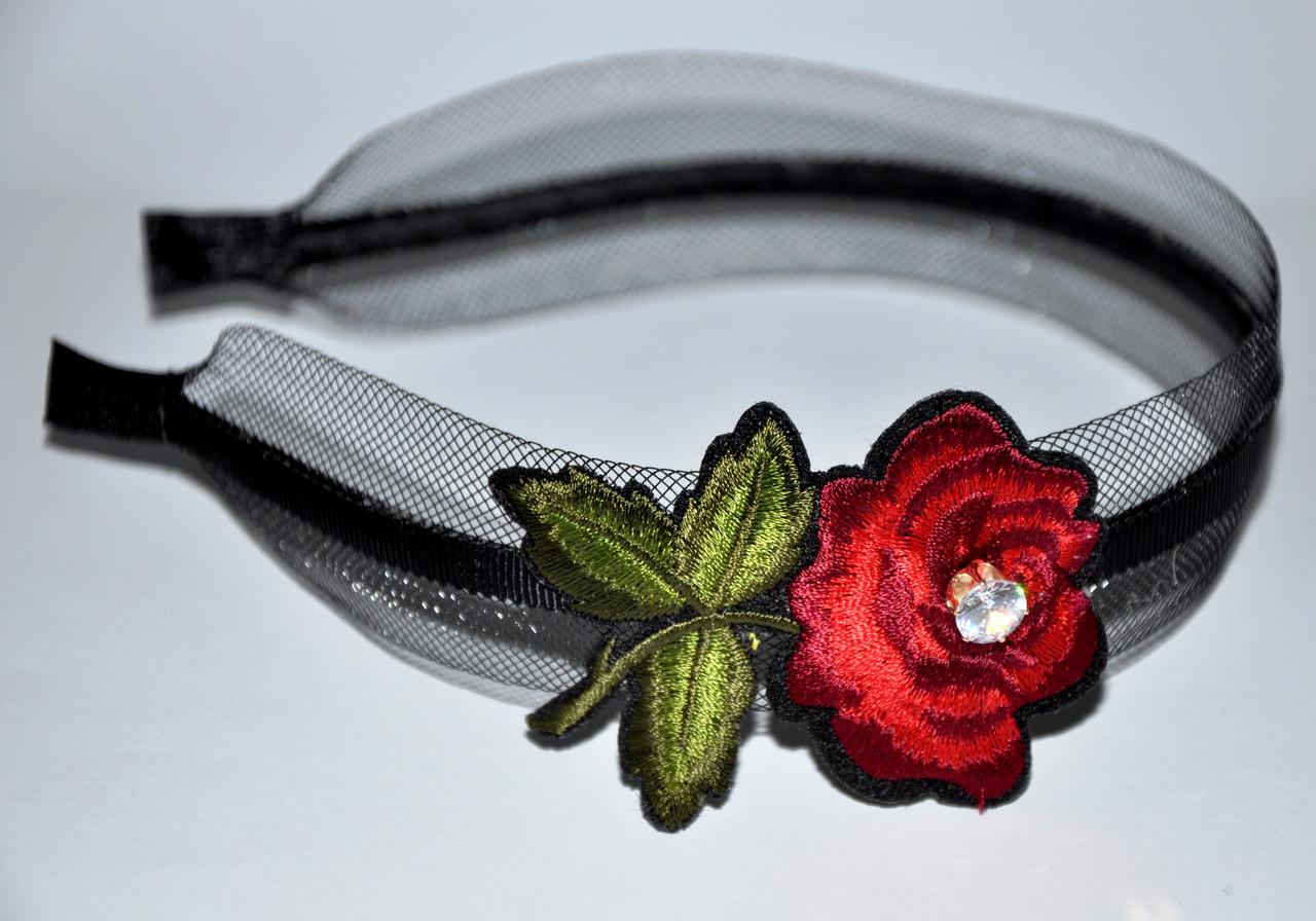 """Обручі для волосся """"троянда"""""""
